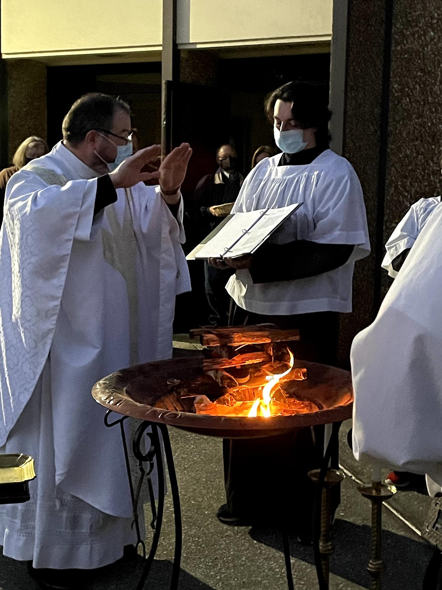 Blessing of the fire