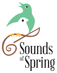 """Sounds of Spring"" graphic"