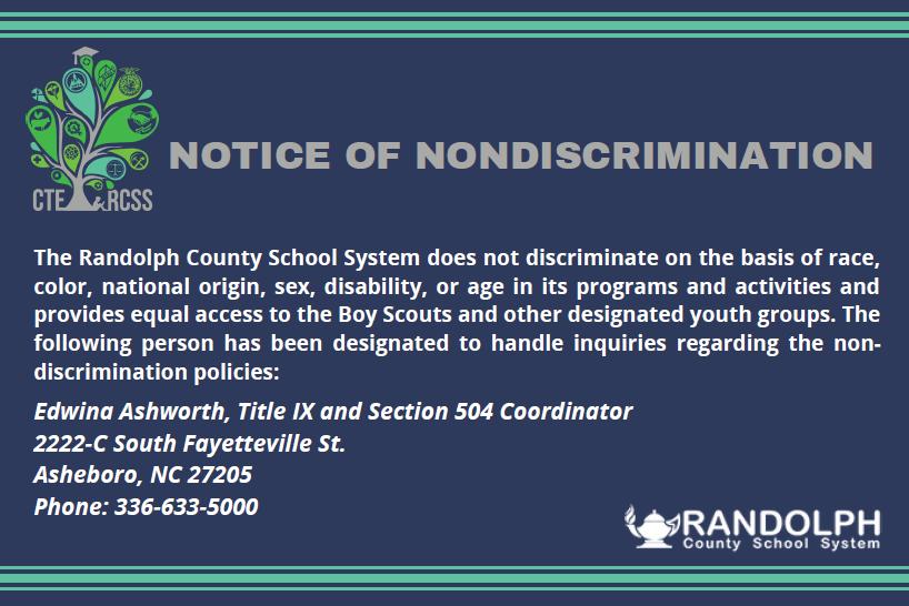 Non Discrimination Notification