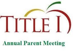Title I Meeting with apple