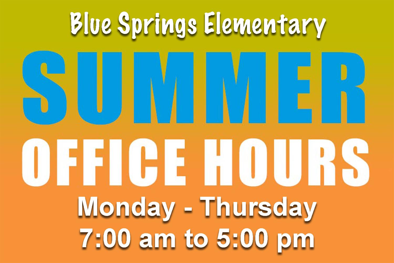 BSE Summer Hours