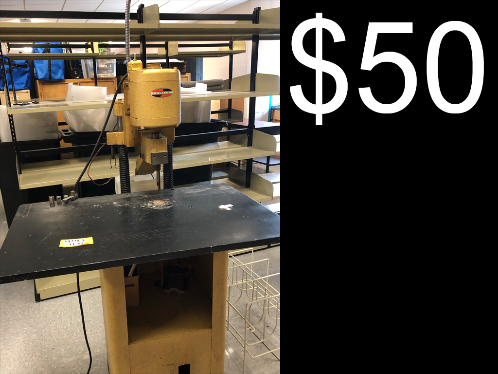 $50 Hole Punch Drill Press