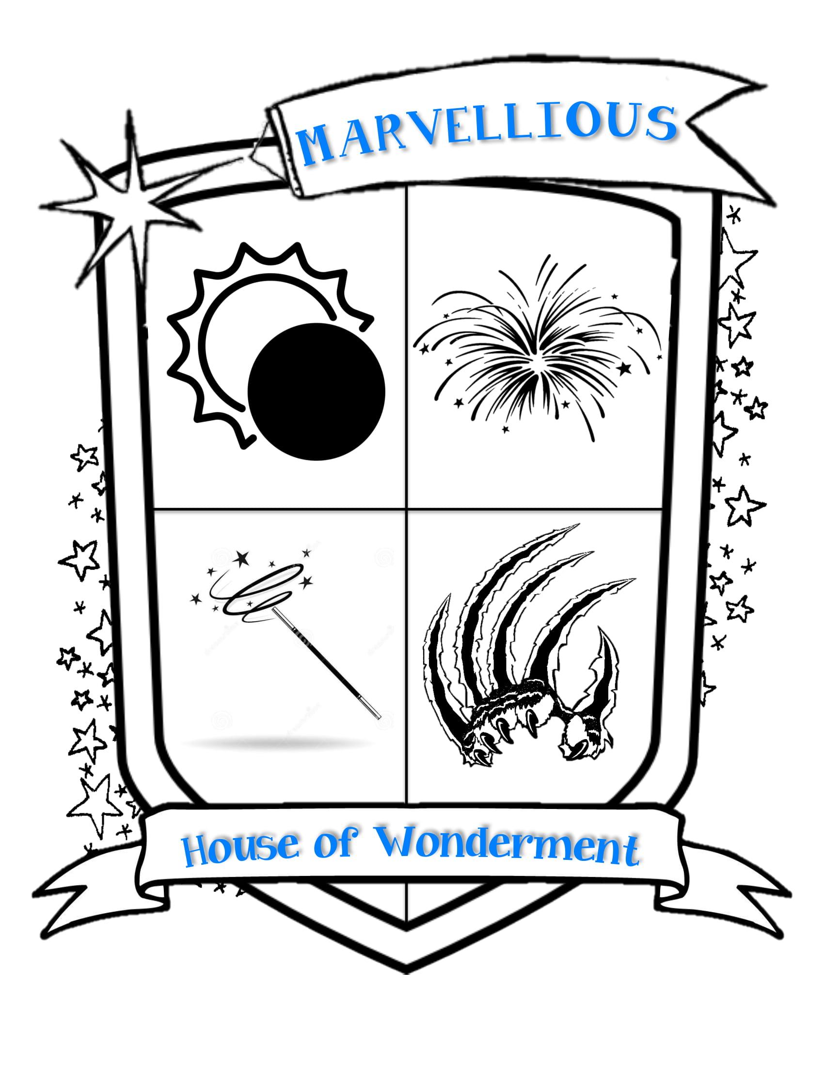 Marvellious crest