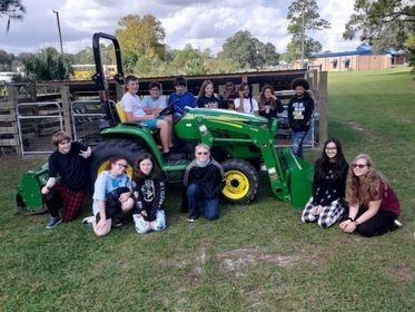 TCSD receives tractor for Ag programs