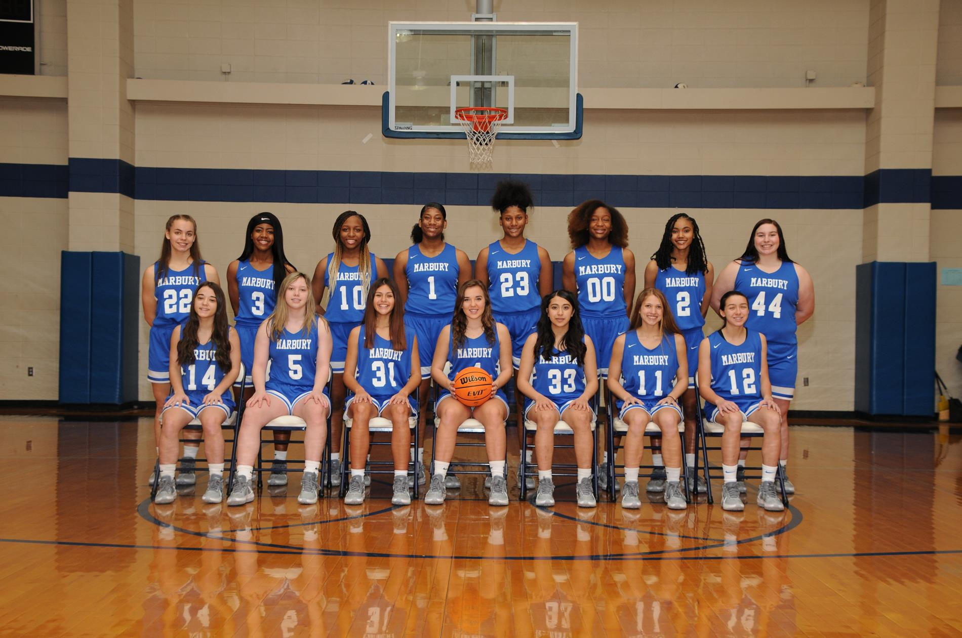 2020-2021 MHS Varsity Girls Basketball