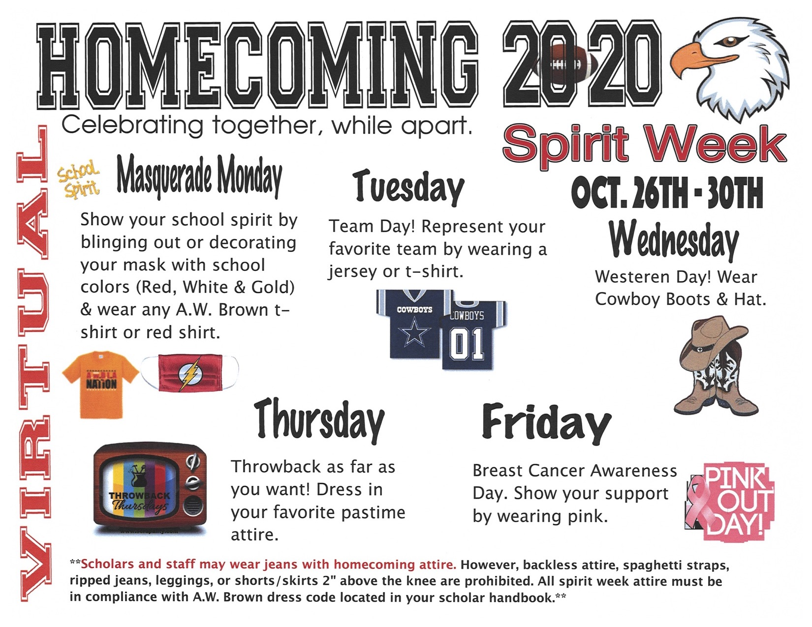 20-21 Homecoming Flyer
