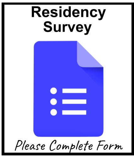 Residency Survey