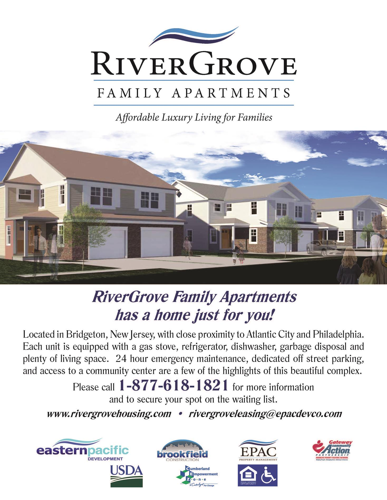 River Grove flyer