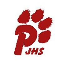 PJHS letter P with a paw