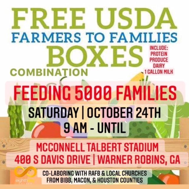 USDA Food Giveaway