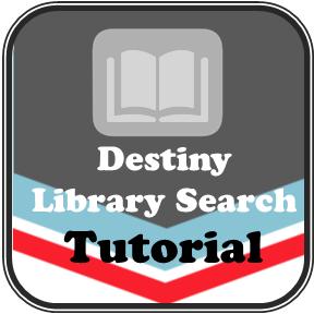 destiny library search tutorial