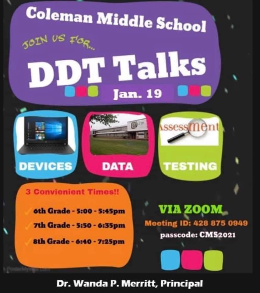 CMS DDT event