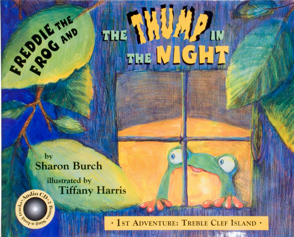 """Cover of the book """"Freddie the Frog and the Thump in the Night"""""""