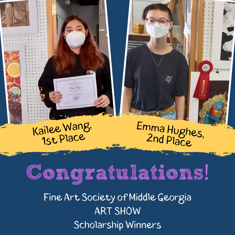Seniors Win Fine Art Society Scholarship