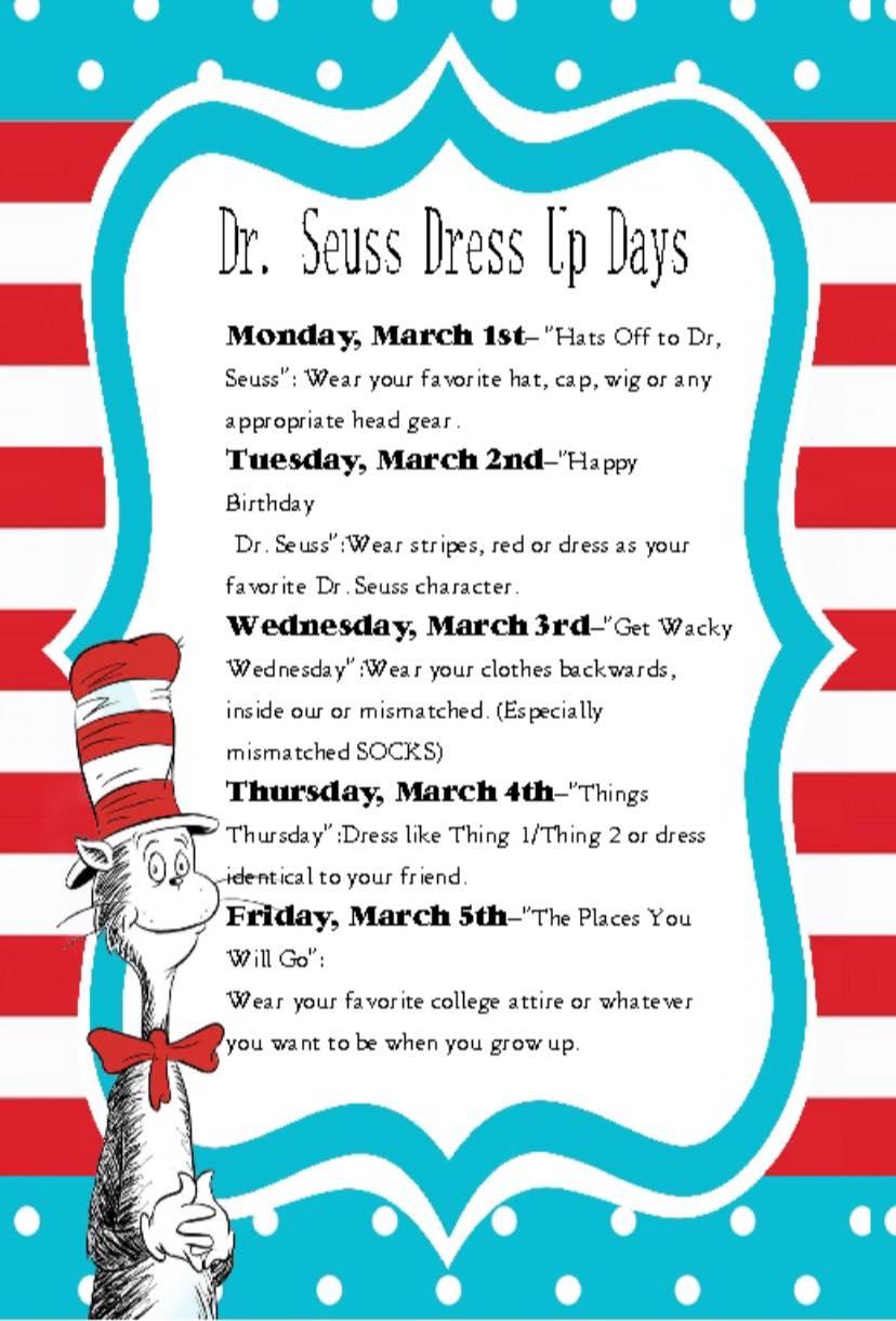 drseuss week dress up