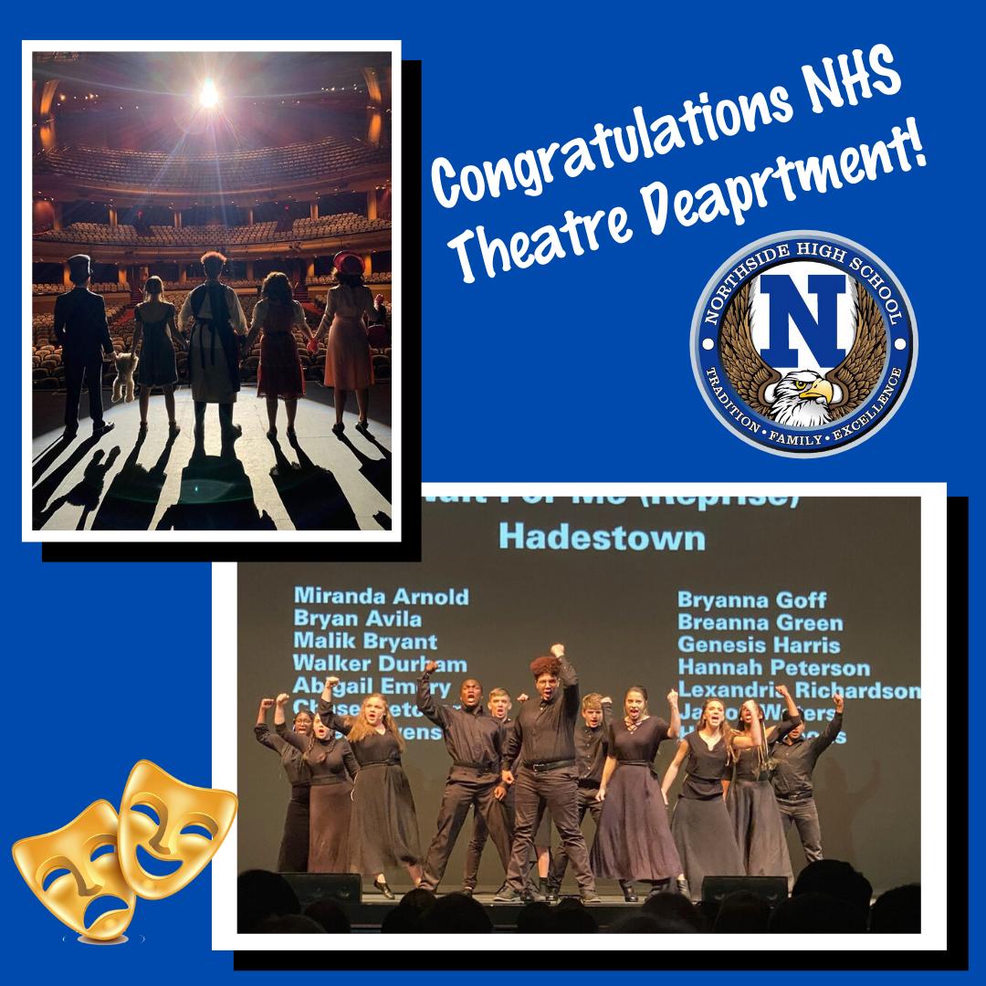 Congratulations NHS Theatre Department!