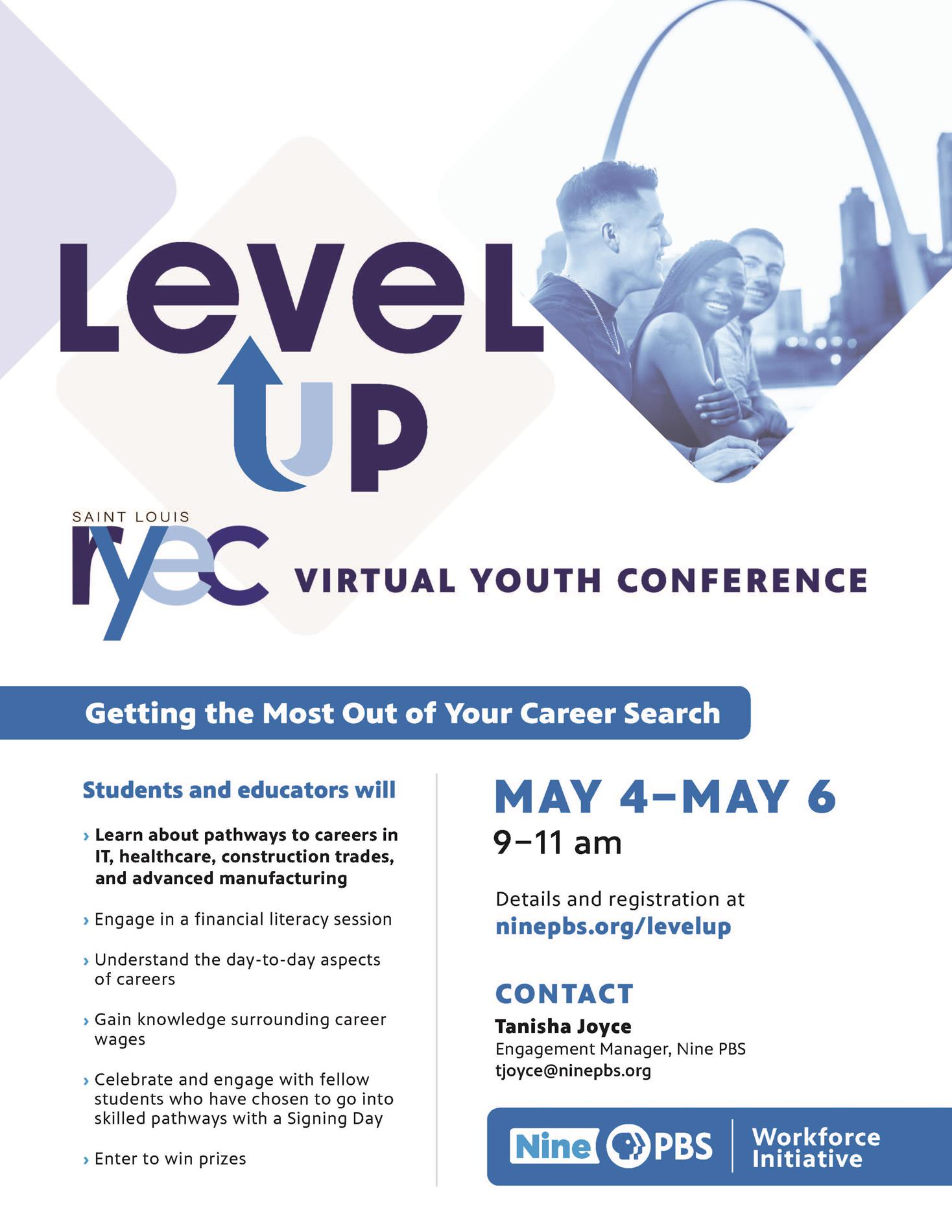 level up virtual conference