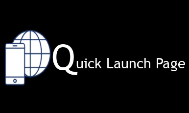 Quick Launch Page