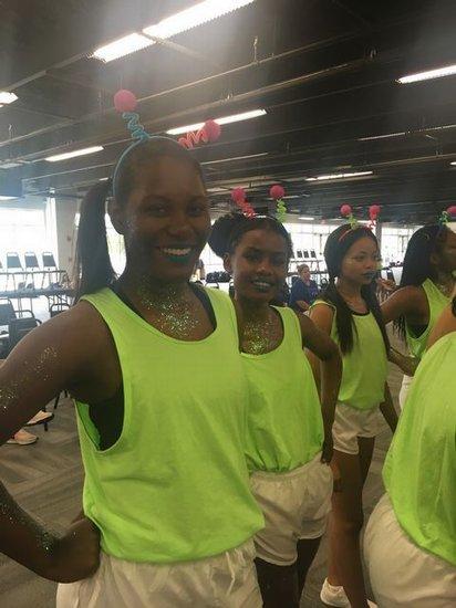 Space Jam Rally UCA Cheer Camp 2018