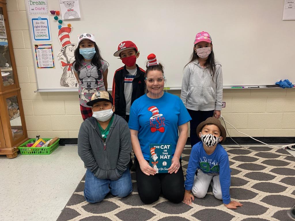 Ms. Shook's Class Celebrates Dr. Seuss Week