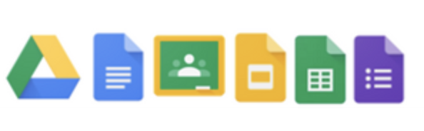 Icons of Google Suite Applications