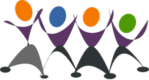 Dancing People-Wellness Logo Image
