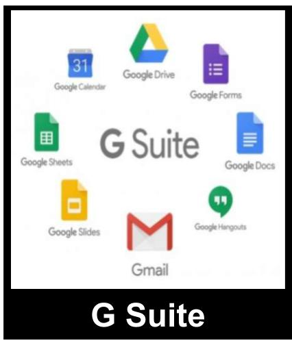 G Suite Dashboard