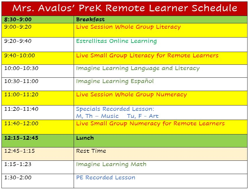 Avalos Remote Learners