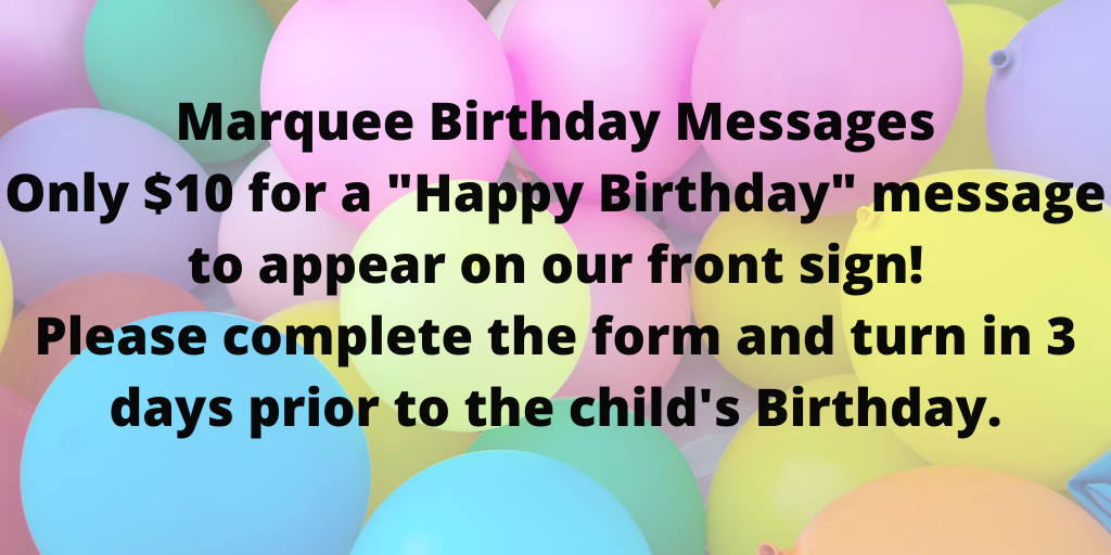 Birthday Message