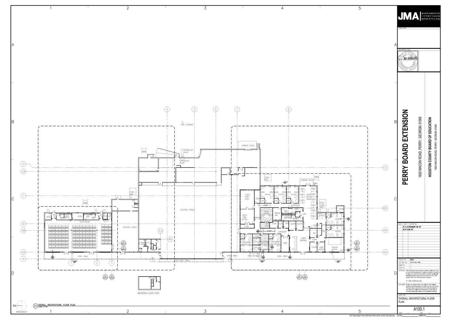 Perry Extension Overall Floor Plan