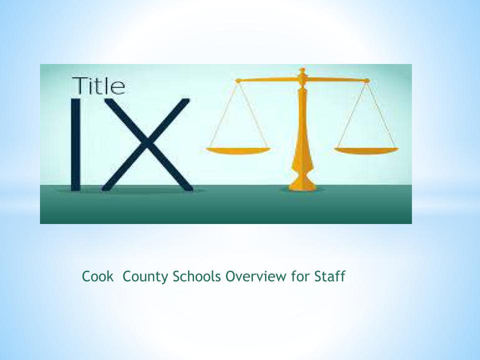 Title IX Presentation