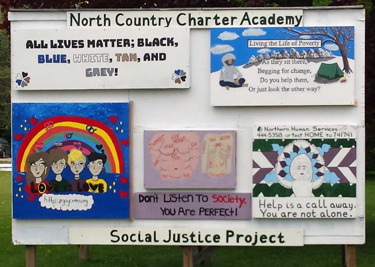 Social Justice Project Mural