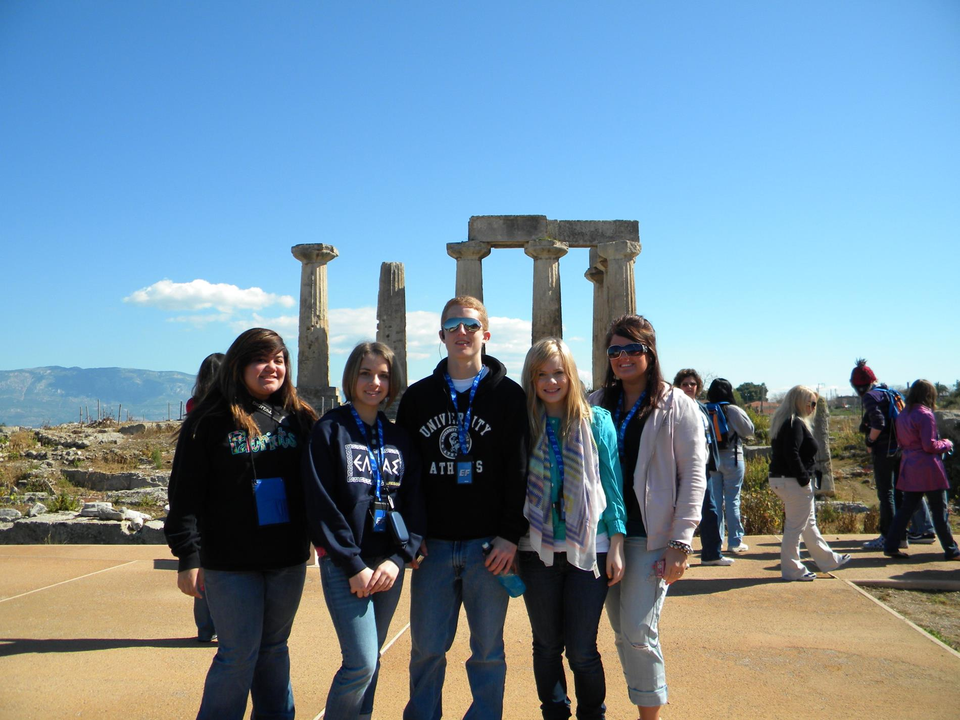 Students in Corinth