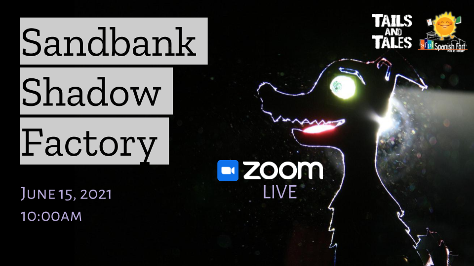 zoom live event June 15, 2021 at 10:00am: Shadow puppet theatre