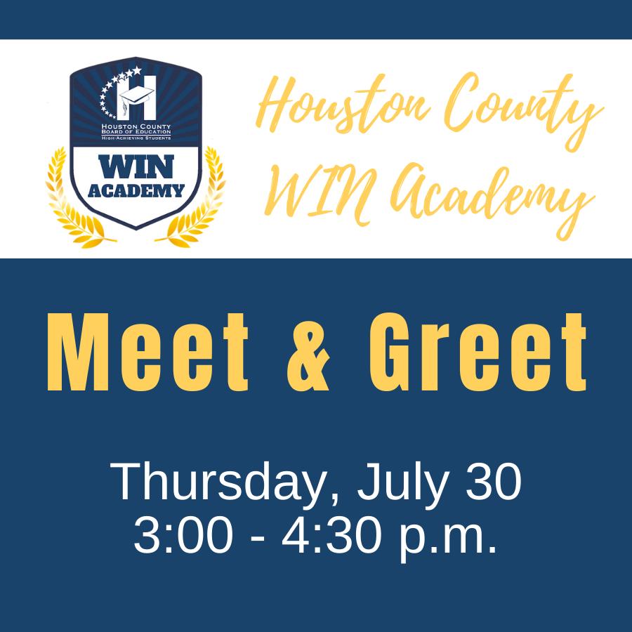 Houston county WIN Academy