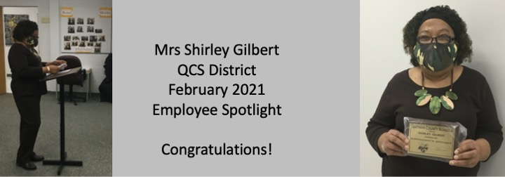 Shirley Gilbert February 2021 Spotlight