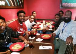 Mentoring Program Takes Students Out to Dine and Loop Sightseeing