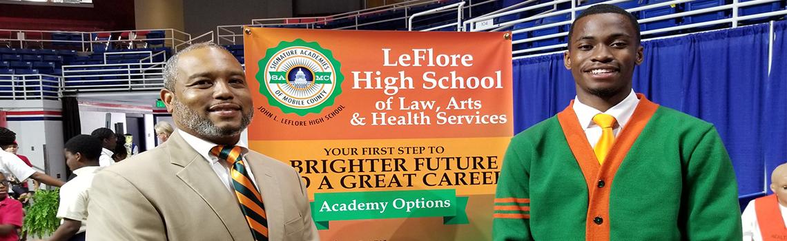 Principal and Student Leflore