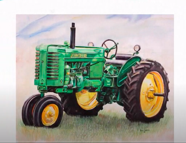 Click Here for the Lesson on Drawing a Tractor
