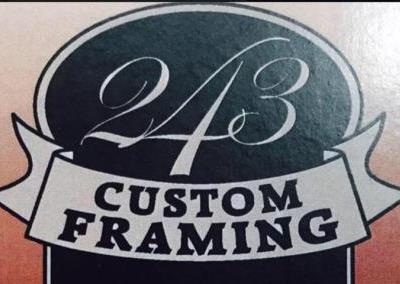 Custom Framing Logo