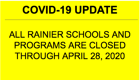 School Closure Through April 28, 2020