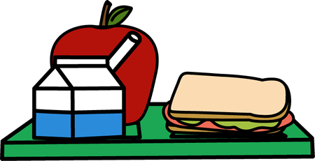 school lunch clip art