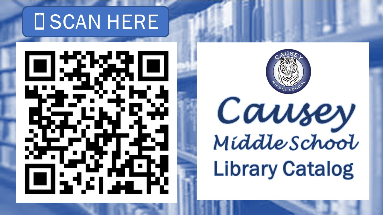 Scan to access library catalog