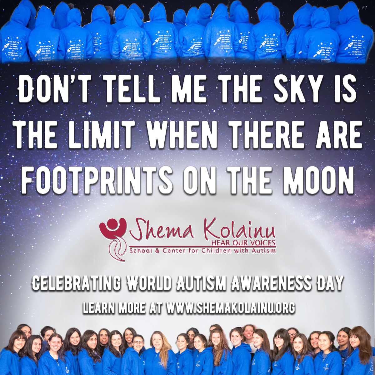Shema Kolainu – Hear Our Voices Celebrates World Autism Awareness Day