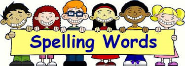 Alt = Students holding spelling sign