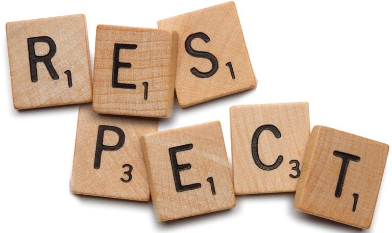 Respectful words