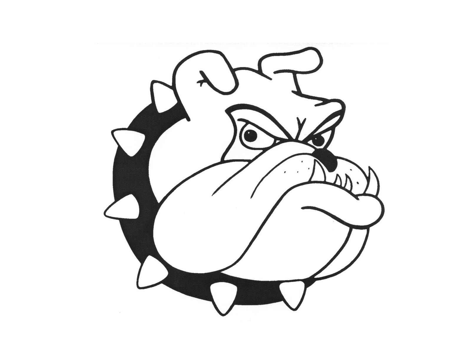 MPHS Bulldog Head