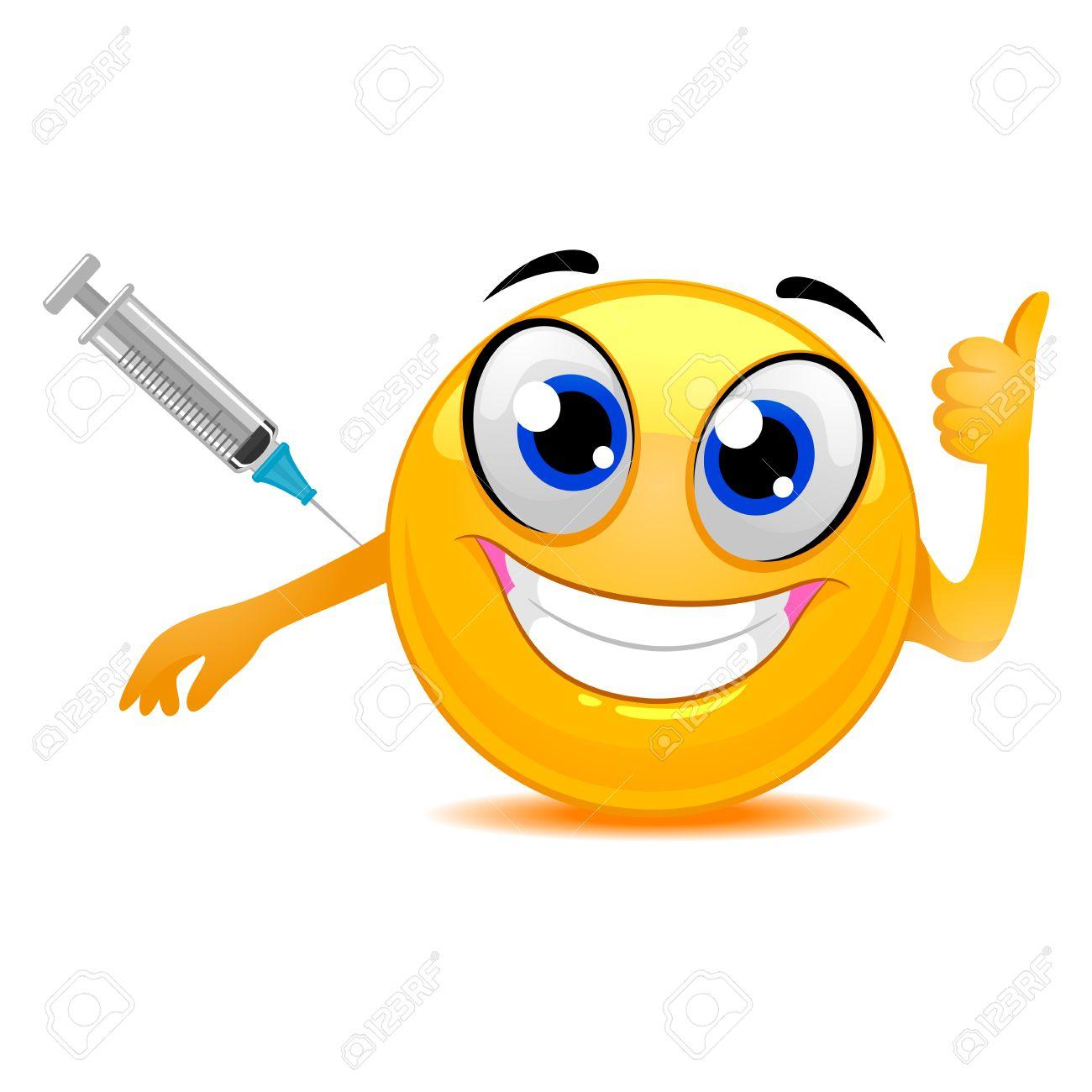 vaccine smiley