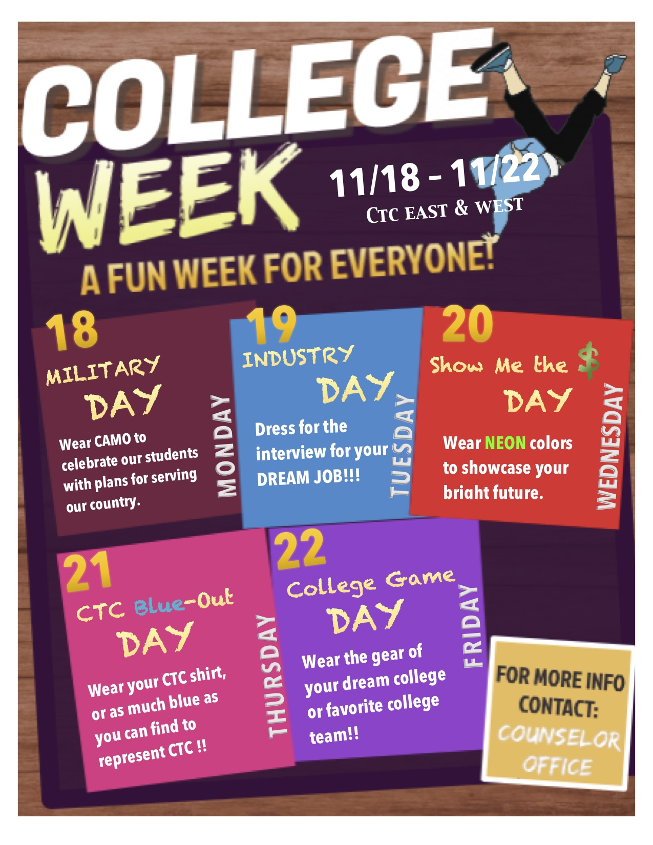 College Week Flyer