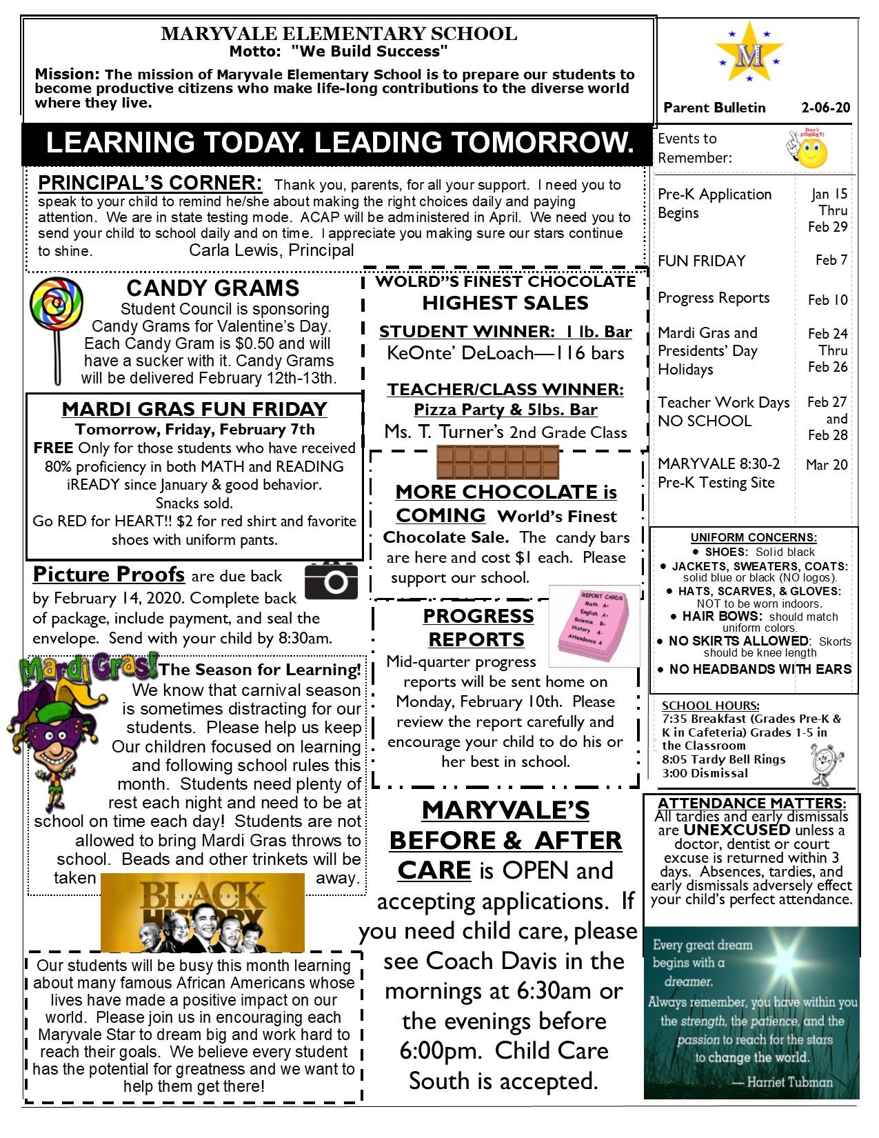 Newsletter Feb 6